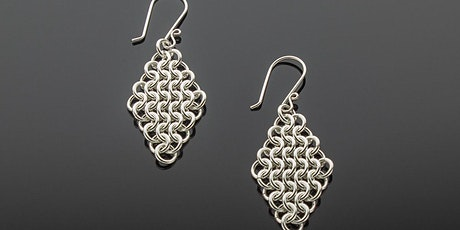 Chainmaille Diamond Earrings with Carol Korte tickets