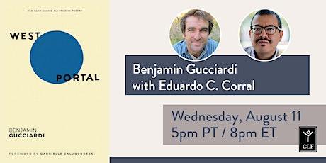 Benjamin Gucciardi with Eduardo C. Corral biglietti
