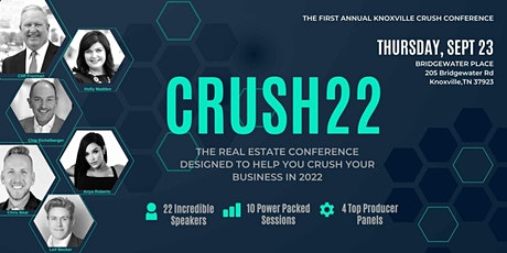 CRUSH 22 Conference tickets