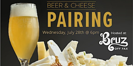 Beer and Cheese Pairing at Bruz Off Fax tickets