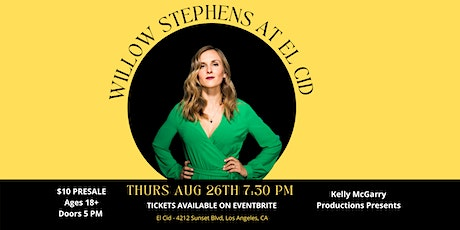 Willow Stephens at El Cid - Sunset tickets