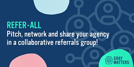 REFER-ALL: Connect with other agencies (guaranteed at least one referral) ingressos