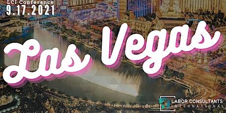 2021  LCI H-2B Conference: LAS VEGAS tickets