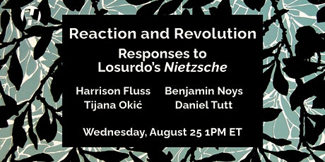 Reaction and Revolution: Responses to Domenico Losurdo's 'Nietzsche' tickets