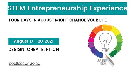 Virtual STEM Entrepreneurship Experience 2021 tickets