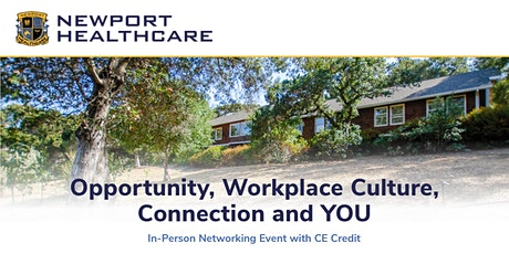 Opportunity, Workplace Culture, Connection and YOU tickets