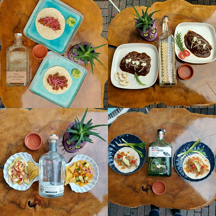 Mexican food Tasting with Mezcal Pairing image