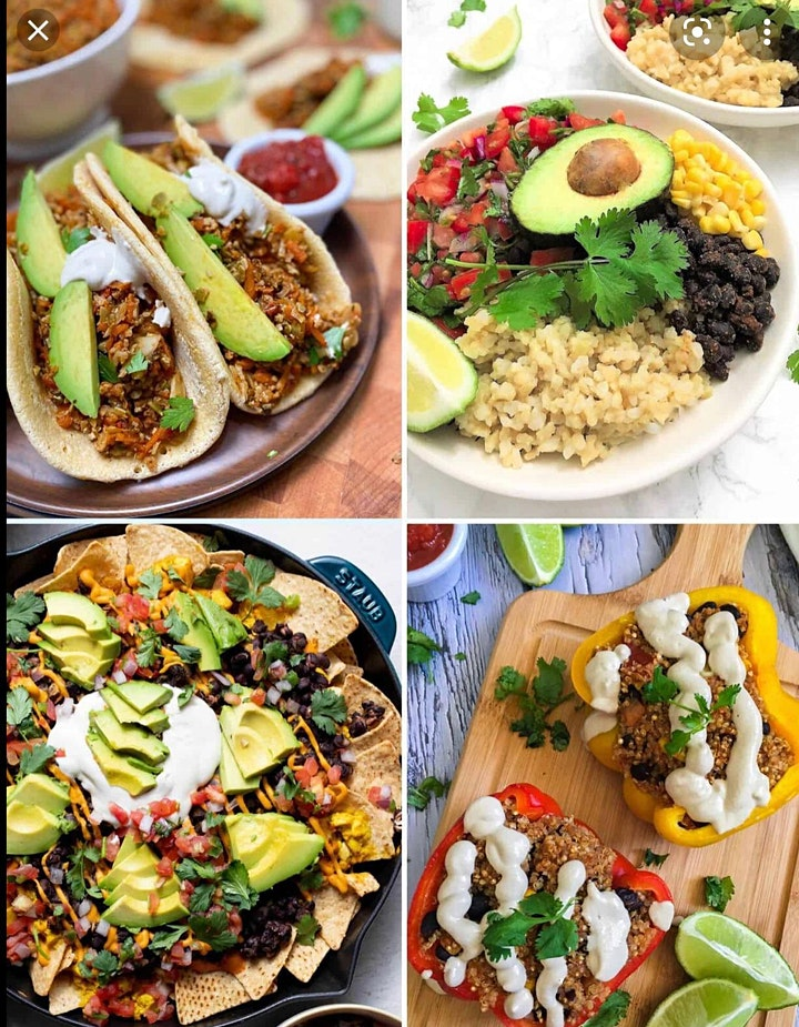 REfUSE Restaurant Night: Vegan & veggie Mexican Food image