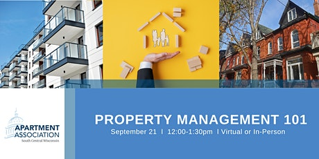 Property Management 101- Virtual or In-Person tickets