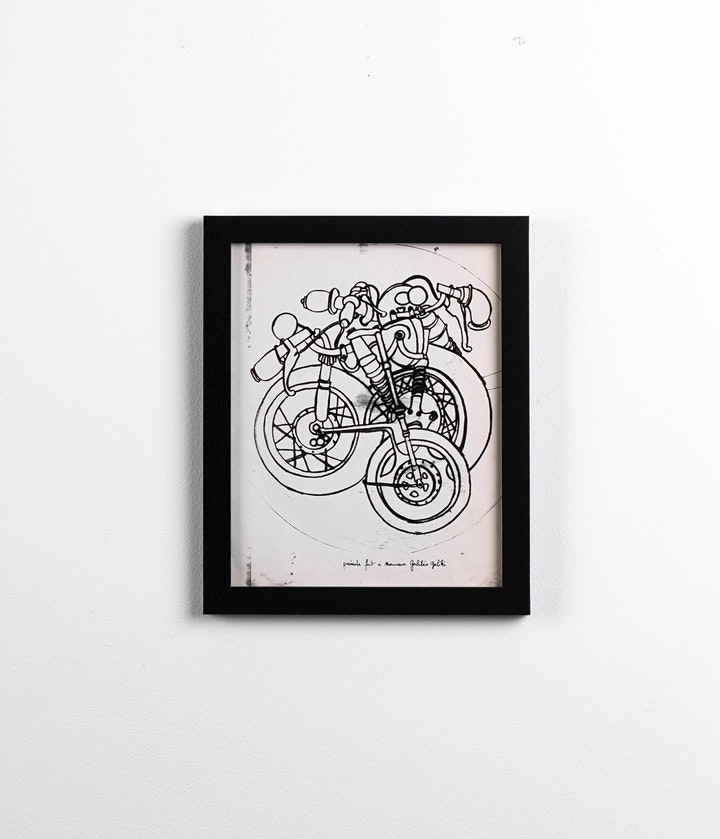 """""""The Cycle of the Bicycle"""" Closing Exhibit - First Friday, August 6th. 2021 image"""
