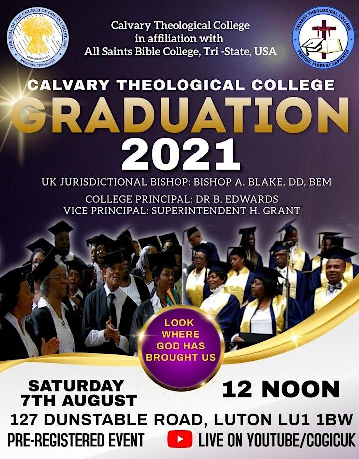 Calvary Theological College Graduation 2021 image