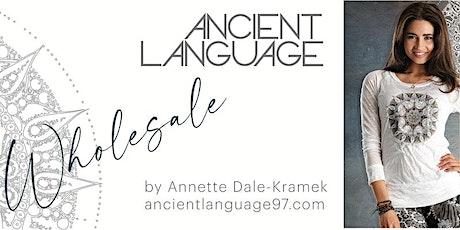 Ancient Language Wholesaler Presentation tickets