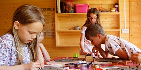 Children's Holiday Pottery Workshops 9th-12th August 2021 tickets