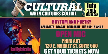 RHYTHM & POETRY 2021 ( When Cultures Collide ) OPEN MIC  @Phiri Art tickets