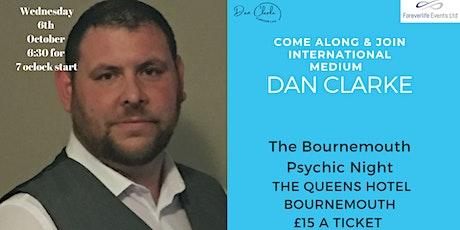Bournemouth Psychic night with Dan Clarke tickets
