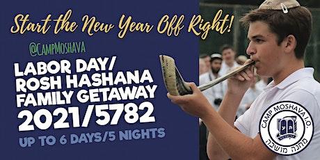 Labor Day Weekend / Rosh Hashana Getaway at Camp Moshava tickets