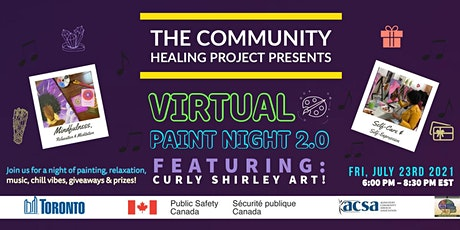 CHP EAST PRESENTS VIRTUAL PAINT NIGHT 2.0  FT CURLY SHIRLEY ART tickets