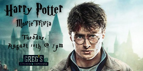 Harry Potter Movies Trivia at Greg's Kitchen & Taphouse tickets
