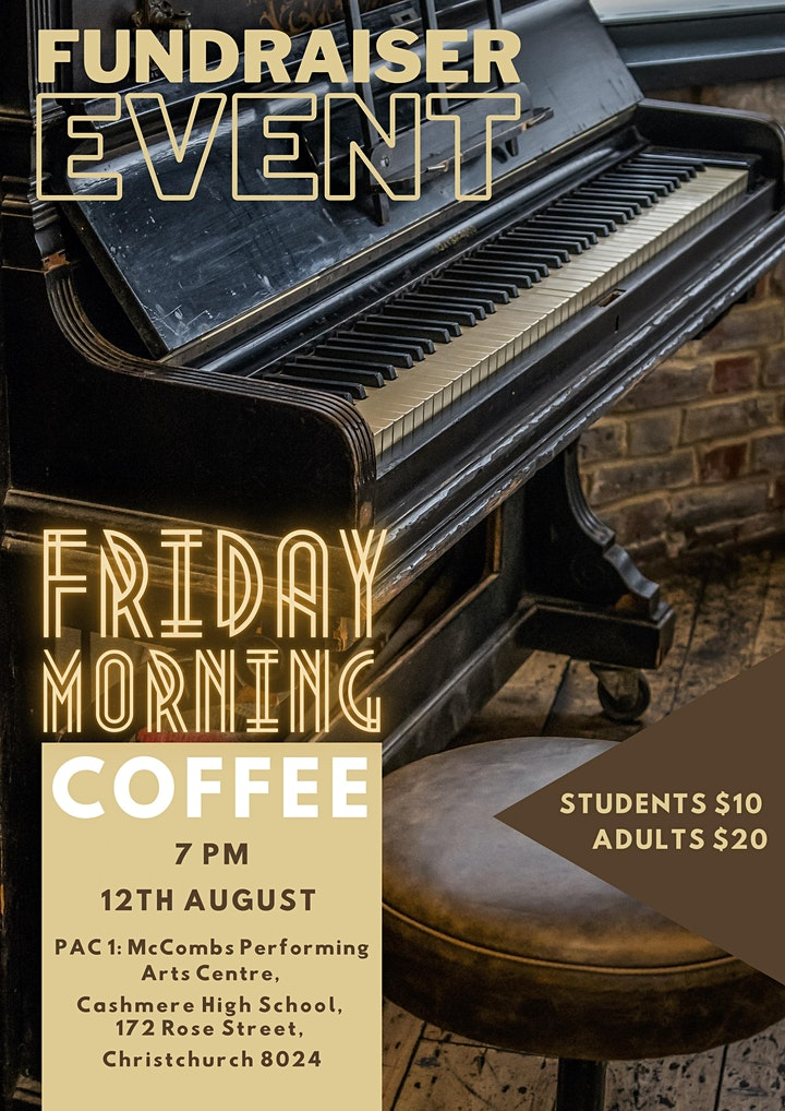 Friday Morning Coffee - Fundraiser Concert image