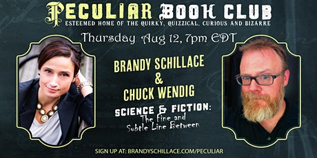 Aug 12th at 7pm: Get Sci-Fi with Chuck Wendig! tickets