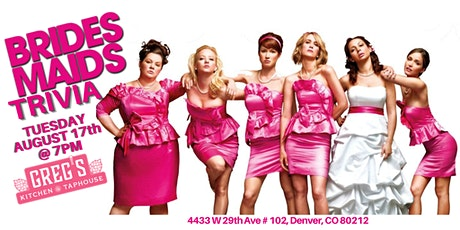 Bridesmaids Trivia at Greg's Kitchen and Taphouse tickets