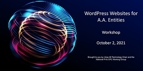 WordPress Websites for A.A. Entities tickets