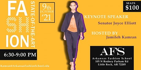 Arkansas Fashion School Emerging Designers Fashion Show 2021 tickets