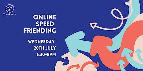Online Speed Friending tickets