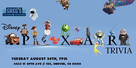 Disney Pixar Movie Trivia at Greg's Kitchen and Taphouse tickets