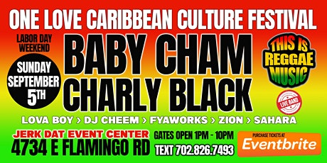 One Love Caribbean Culture festival and concert Las Vegas Labor Day weekend tickets