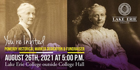 Mary Evans Pomeroy Historical Marker Dedication and Fundraiser tickets