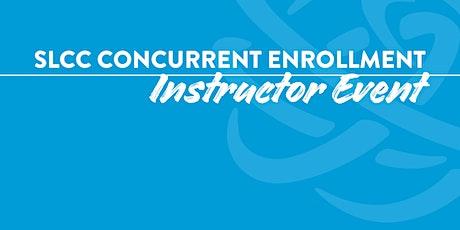 2021-22 SLCC Concurrent Enrollment Instructor Event tickets