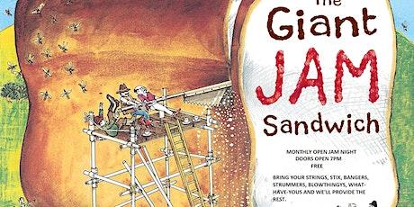 The Giant Jam Sandwich tickets