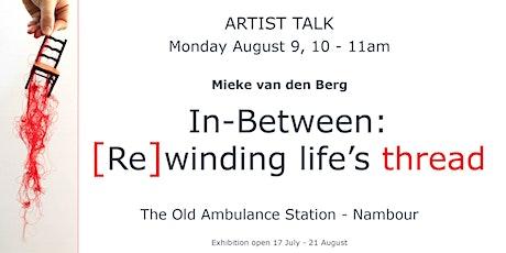 Artist Talk: Mieke van den Berg tickets