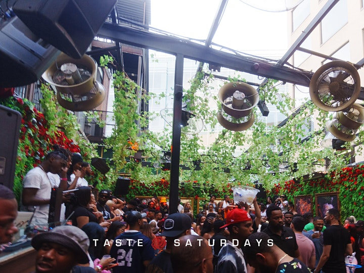 Taste Saturdays Day Party at Rosebar DC Rooftop image