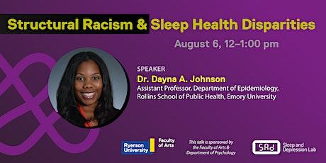 Structural Racism & Sleep Health Disparities tickets