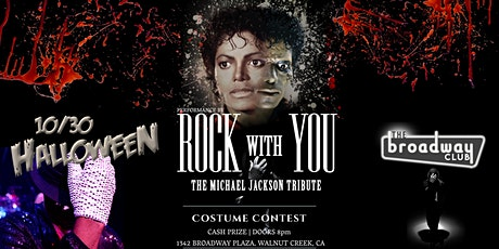 Halloween Party!  Rock With You - The Michael Jackson Tribute! tickets
