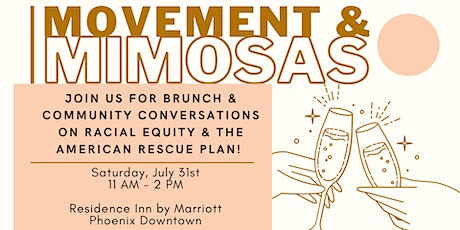 Movement & Mimosas: Racial Equity in American Rescue Plan tickets