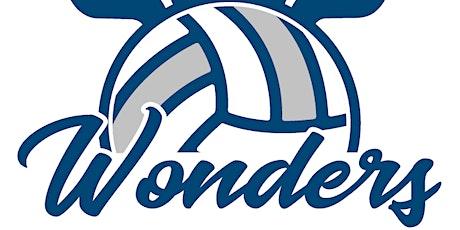 Camp de volleyball Wonders - été 2021  (9 au 13 août 2021) billets