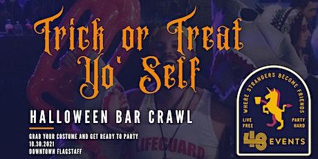 Trick or Treat Yo' Self: Halloween Bar Crawl tickets