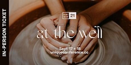 Unique Conference 2021 (In-Person Ticket) tickets