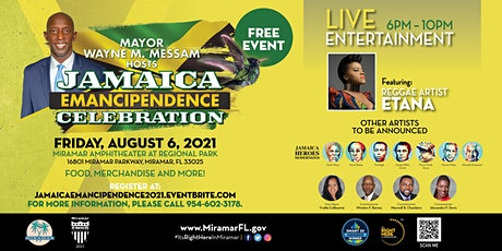 Jamaica Emancipendence Celebration tickets