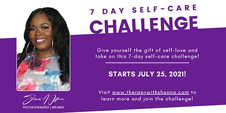 Free 7-Day Self-Care Challenge (Give yourself the gift of self-love!) tickets