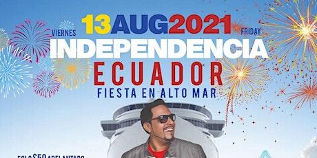 Ecuadorian Independence Summer Cruise At Cabana Yacht tickets