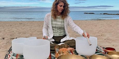 Full Moon Sound Bath Meditation @ Atwater Beach tickets