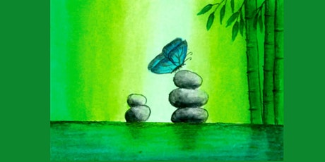 60min Paint Landscape Scenery: Butterfly@1PM  (Ages 6+) tickets