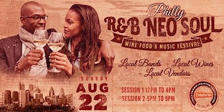 Philadelphia R&B Wine Food & Music Festival tickets