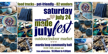 Marda Loop YYC MADE JulyFest OUTDOOR Market tickets