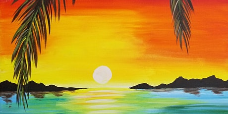 Rainbow Sunset Paint and Wine Event tickets