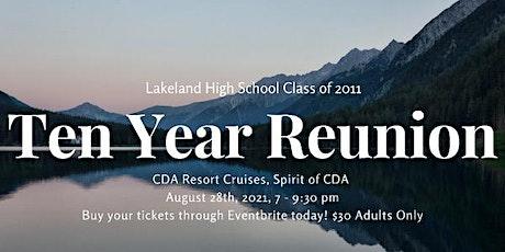 Lakeland Class of 2011 Reunion tickets